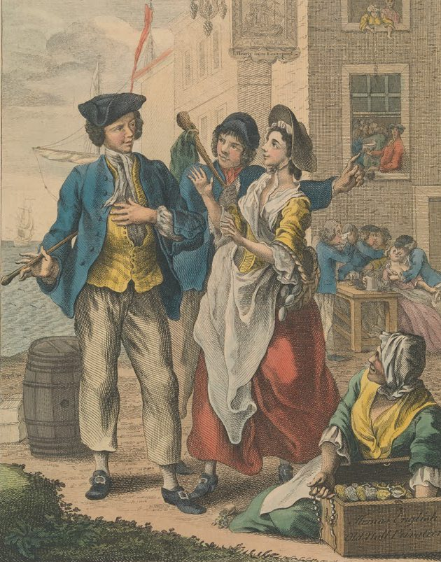 The Sailor's Return, 1744
